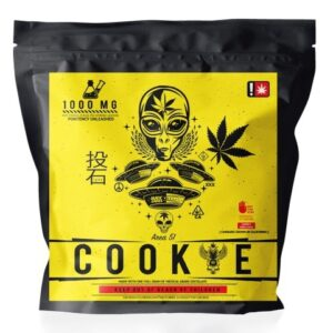 Buy Area 51 Cookie online, an infused cannabis extract with 1000MG for an instant out of this world feeling. A great tasting and long-lasting edible