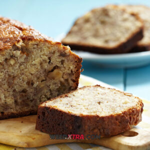 Cannabis Banana Bread Recipe · 1 ¼ cups sugar · ½ cup cannabutter, melted · 2 eggs · 1 ½ cups (3 to 4 medium) overripe bananas, mashed