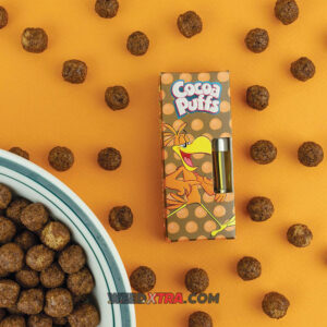 Cocoa Puffs Cereal Carts, Vape pens & Cartridges. Cocoa Puffs cannabis is an evenly balanced, 50/50 hybrid by Hazeman Seeds.