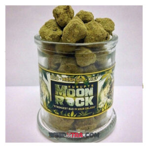"""Kurupt's Moonrocks is a celestial bud of strain specific bud, drenched in CO2 oil, and then coated in a heavy layer of """"sicdust"""" (or kief)."""