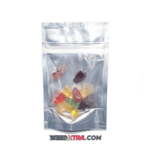 Pure THC Distillate Gummy Bears are made with 100% Pure THC Distillate. a very pure form of THC, hence low dose but strong effects.