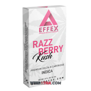 Buy Raspberry Kush Cartridge, a great-tasting indica strain whose raspberries and cream aroma will keep you coming back for more.