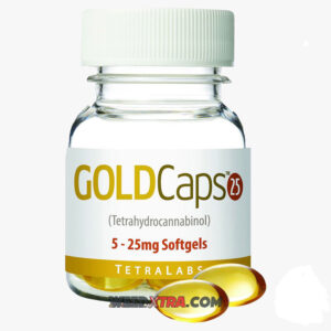 TetraLabs GoldCaps CBD. Just swallow a GoldCap Softgel and go about your day with relief. Also refill the GoldPen or other vaporizers