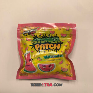 Buy Watermelon Stoner Patch Dummies made with high-quality cannabis and infused with 350-500mg THC medicated packs are powerful long-lasting.