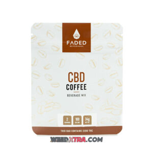Buy Faded 100mg CBD coffee infused with 50mg of CBD per serving to give you mental clarity and keep your creative juices flowing all day long.