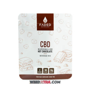 Faded Hot Chocolate 100mg CBD Drink for sale is a blend of rich, velvety cocoa that is the answer to your chilly night prayers.