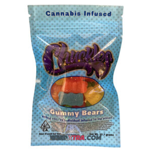 Buy Chuckles Gummy Bears 400mg online at weedxtra to obtain all the amazing effects Indica strains have has to offer. It is the number one choice for recreational users who would like to hit the couch and doze off while watching movies, and for patients who want to lessen chronic pain
